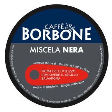 90 Capsule Borbone Dolce Re Nera