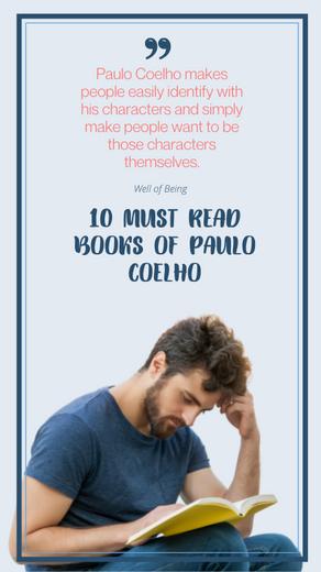 10 MUST READ BOOKS OF PAULO COELHO