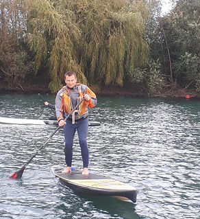Phil crist River guide volunteer Paddleboard Maidenhead