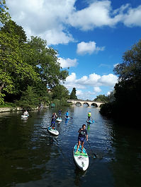 Bray to Guards Club paddle boarding SUP)