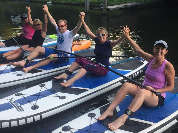 Team Building upon the Thames