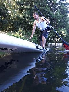 paddleboard maidenhead skills and  SUP t