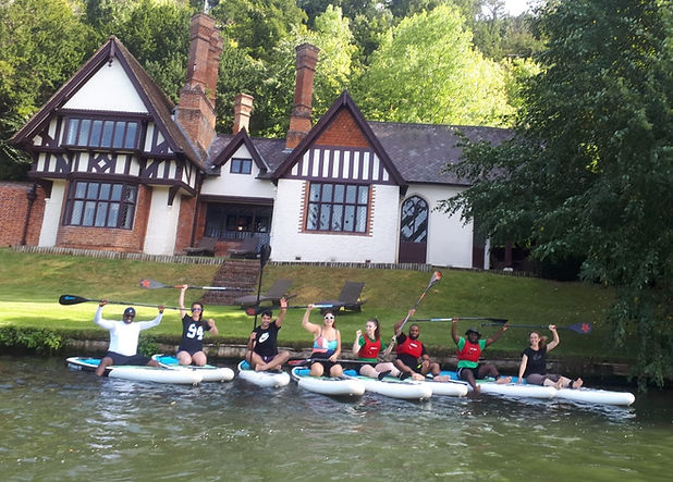 cliveden paddle boarding trips