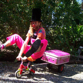 Circus Clown Mini Bike