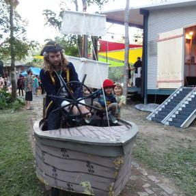 Pirate Bike Boat