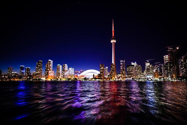 Canva - Cn Tower in Toronto Canada at Ni