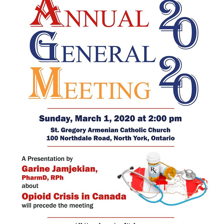 Annual Genral Meeting 2020
