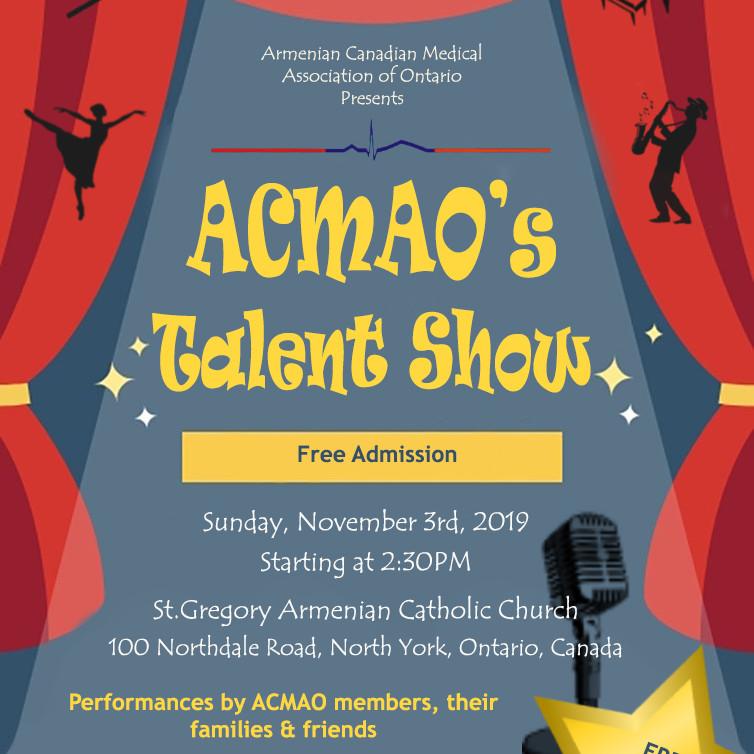 ACMAO Talent Show