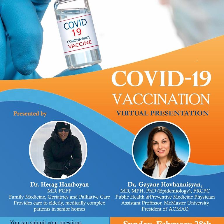 COVID-19 Vaccination: Virtual Presentation