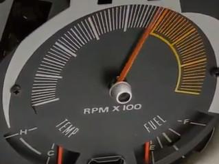1970 AMX Tachometer Repair of Needle