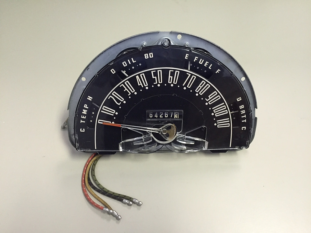 Antique Ford Speedometer