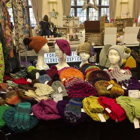 Gill Wilde Knits Stall