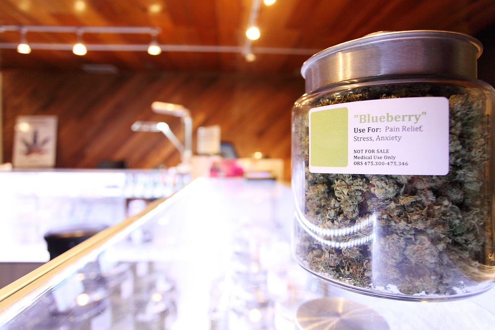 Dispensary selling adult-use cannabis.