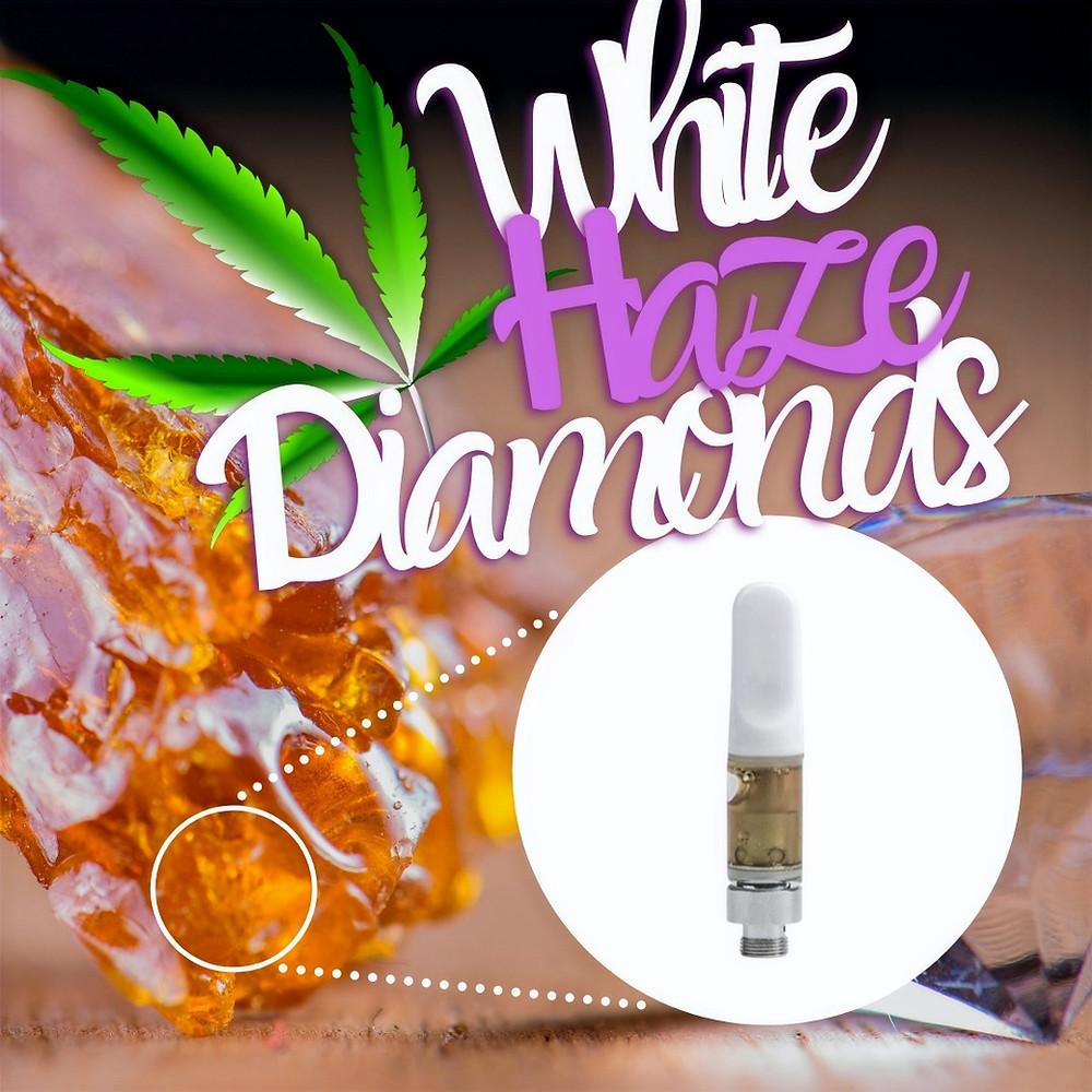 White haze diamond cart from dmv organics