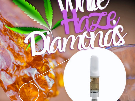 White Haze Diamond Cart - DMV Organics