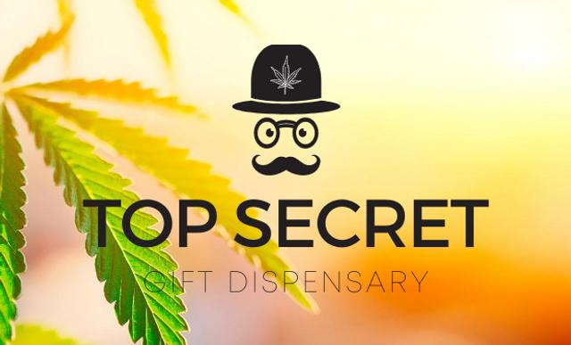 Top Secret DC weed delivery service logo image