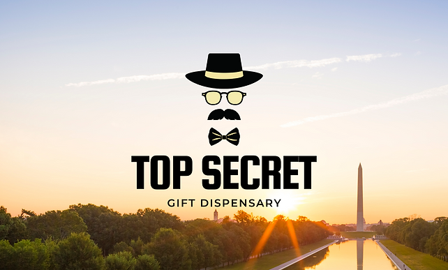 Top Secret DC weed delivery service logo