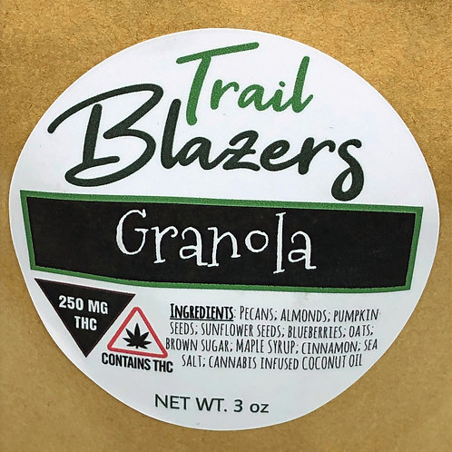 Trailblazers Loose Granola Crumble (200mg / 3oz bag)