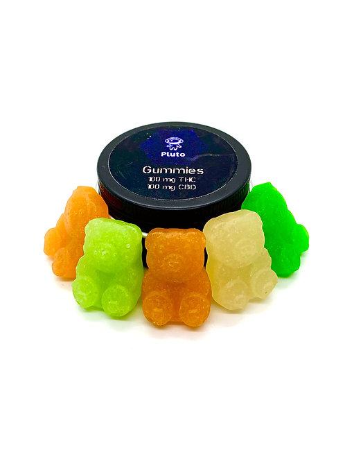 Pluto Gummies -100mg