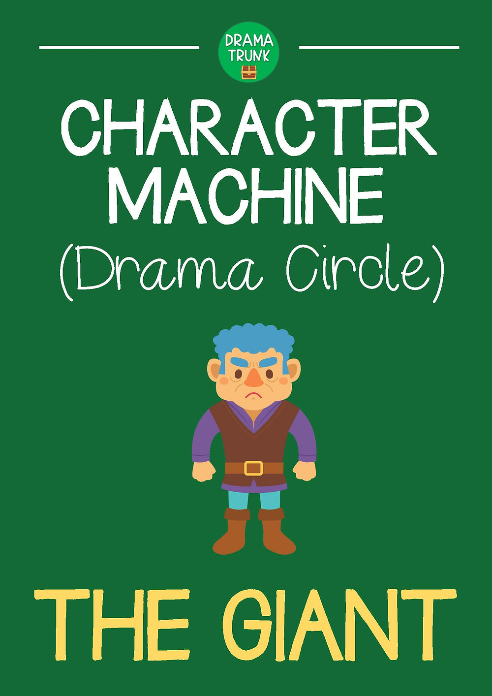 THE GIANT Drama Circle Readers Theater Acting Script for Kids and Teens