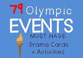 Drama Cards and Activities : Olympic Scenes