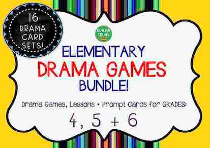ELEMENTARY DRAMA GAMES BUNDLE (4, 5 & 6)