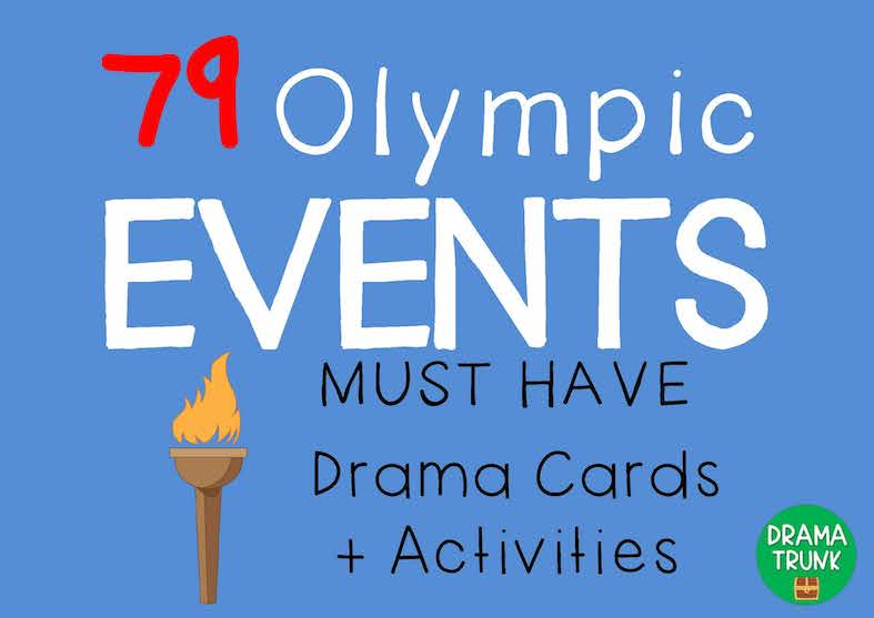 Olympics Teaching Activities by Drama Tr