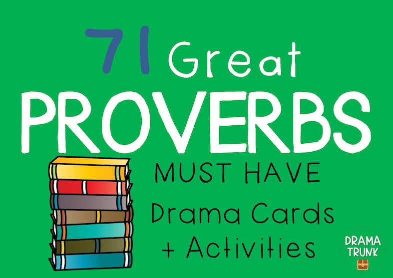 PROVERBS Drama Cards and Drama Activitie