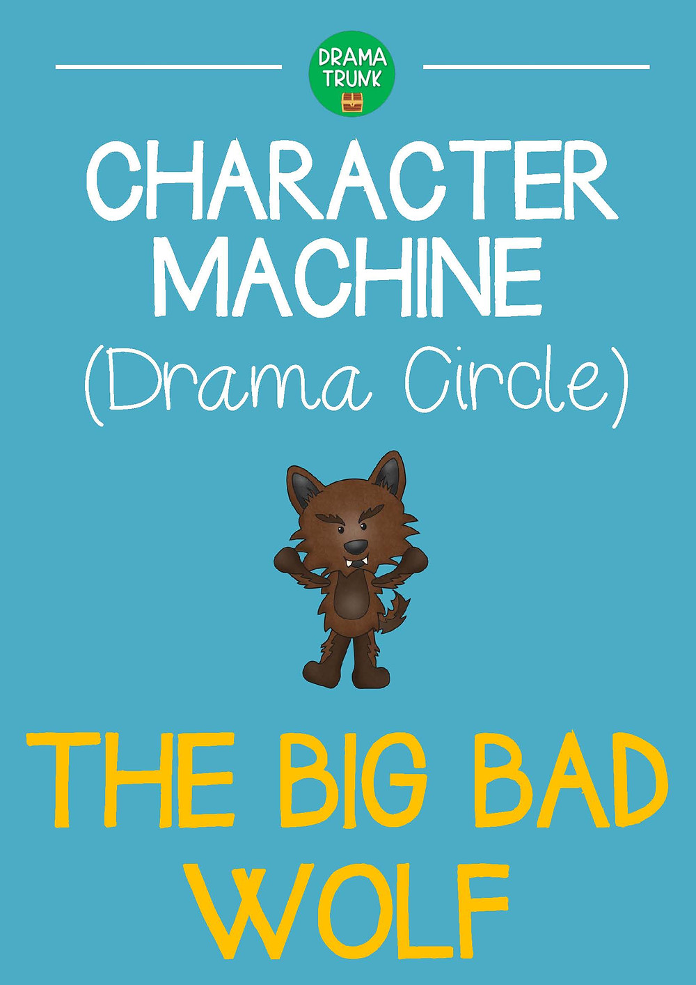 Big Bad Wolf Drama Circle Readers Theatre Acting Script for Kids