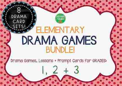 ELEMENTARY DRAMA GAMES BUNDLE (1, 2 and 3)