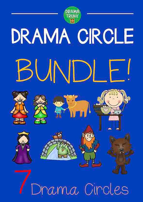 DRAMA CIRCLE Acting Scripts for Kids Bundle