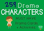 Drama Character Cards