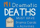 Dramatic Death Drama Cards