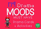 Moods Drama Cards Games and Activities