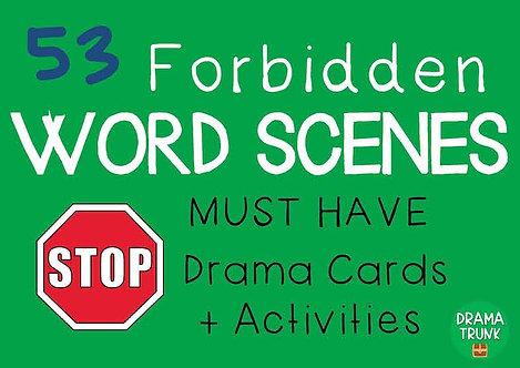 FORBIDDEN WORD SCENES