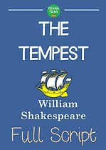 THE TEMPEST Printable Shakespeare Play Script