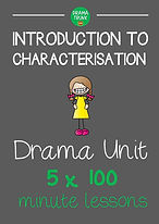 Characterization No Prep Drama Unit