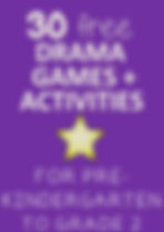 Drama Teaching Games for Kindergarten