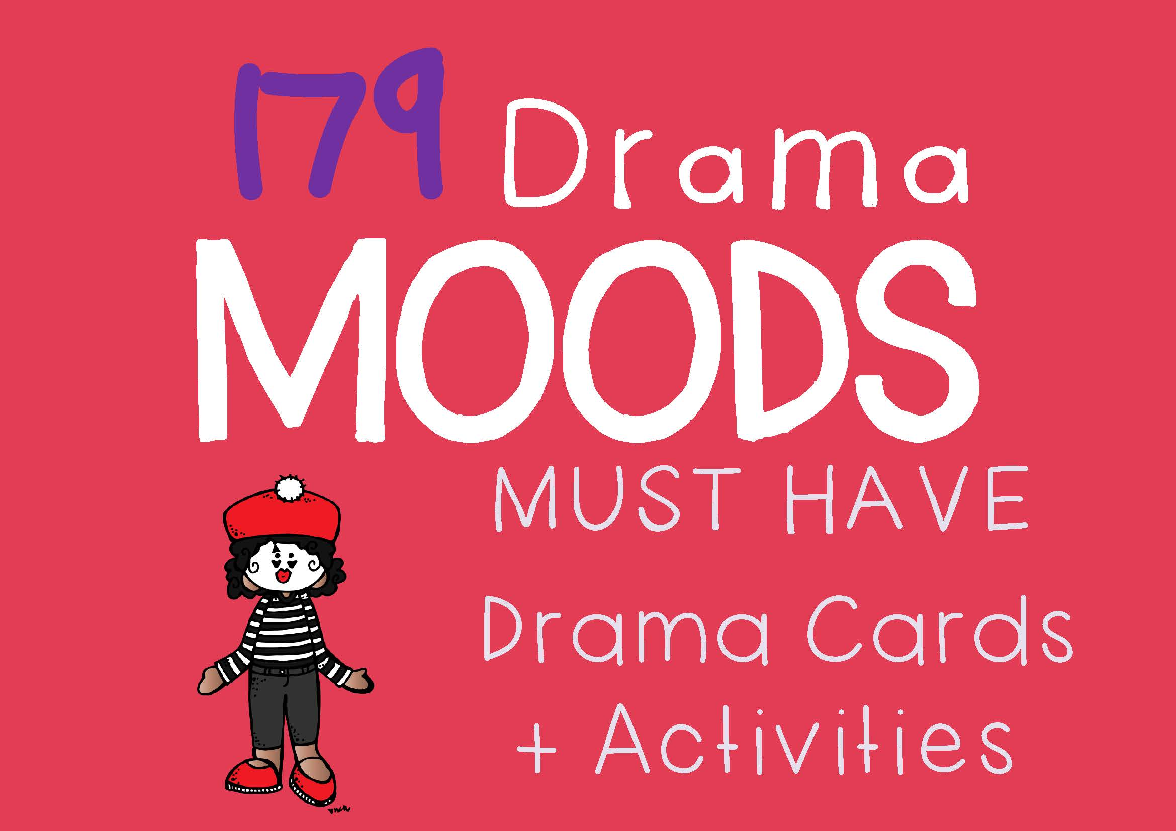 Drama Trunk MOODS Drama Cards and Activities