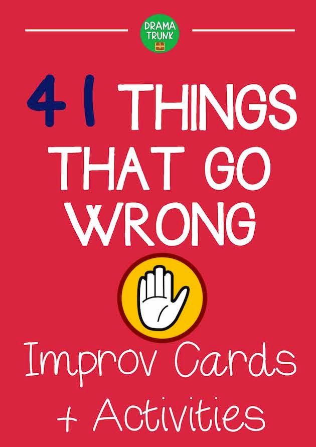 Funny Improv Acting Games Ideas