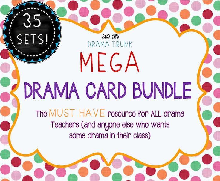 MEGA DRAMA CARD BUNDLE with Drama Activi