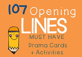 Drama Cards and Activities : Opening Lines