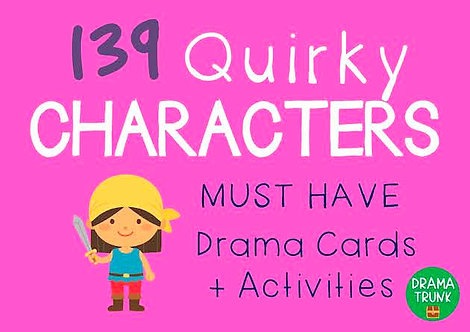 QUIRKY CHARACTERS