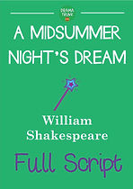 A MIDSUMMER NIGHTS DREAM Printable Shakespeare Play Script