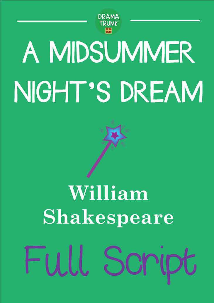 A Midsummer Night's Dream Shakespeare Printable Script PDF