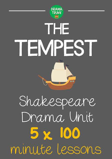 The Tempest Shakespeare Lesson Plans