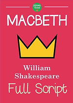 MACBETH Printable Shakespeare Play Script