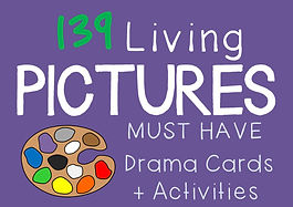 Pantomime Cards (drama resource)
