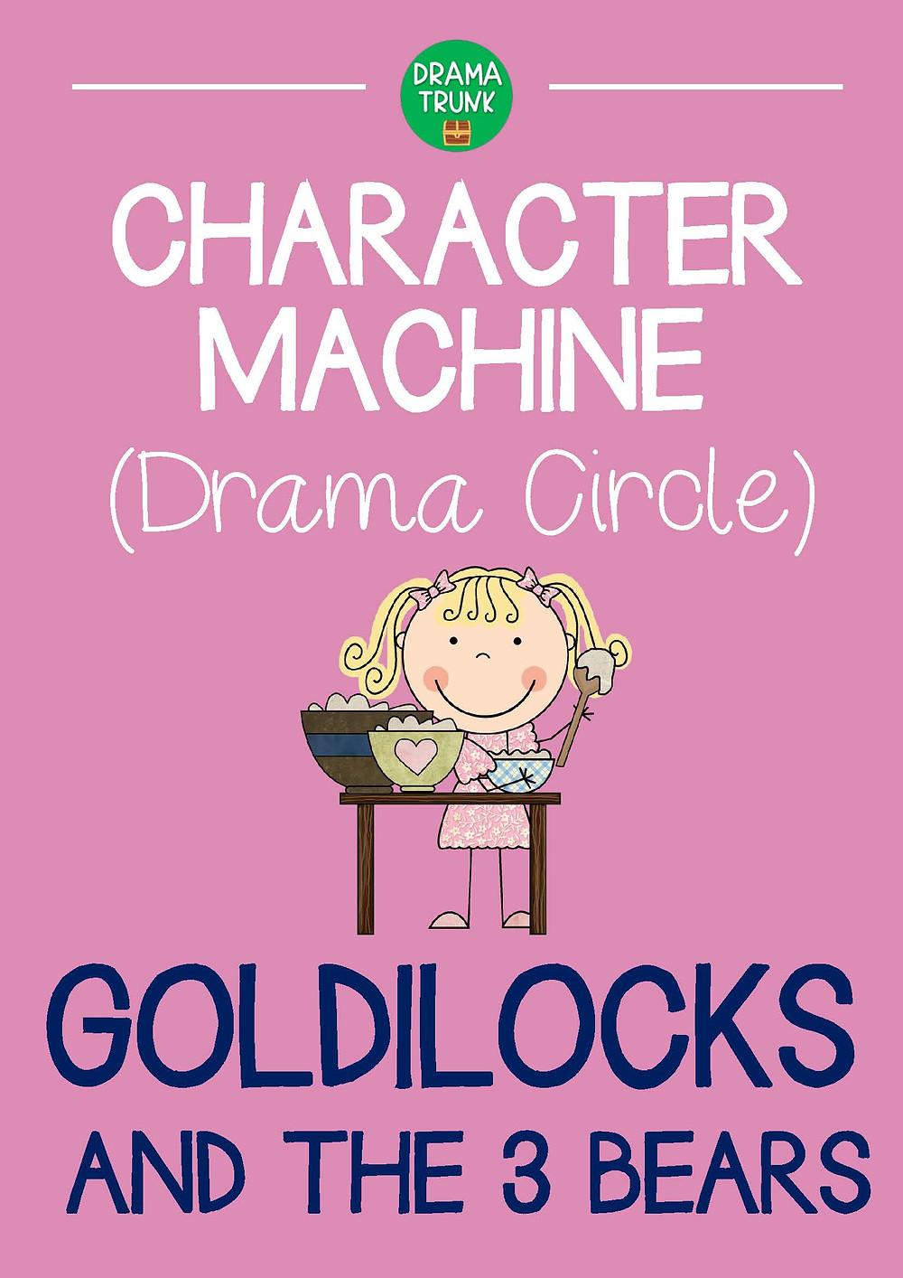 Goldilocks and the 3 Bears Drama Circle Readers Theatre Script for Kids