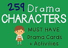 Character Cards Drama